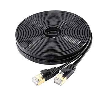 Ethernet Cable Cat 7 Shielded 25 Feet - Best Ethernet Cable for Gaming