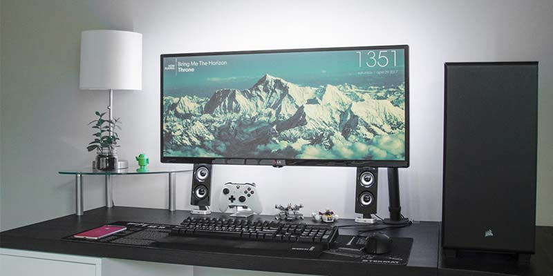 borderless 4k monitors for you